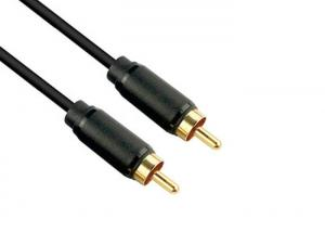 China Dual RCA Stereo Audio Cable With Male to Male Connector For Digital Products on sale