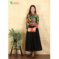 China Breathable Ladies Cotton Clothing Modified Vintage Cheongsam Shirt Double Layer Quilting on sale
