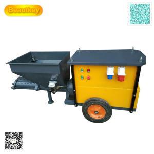 China Srong Stator And Rotor 110V 220V Automatic Mortar Spraying Plastering Machine For Wall on sale
