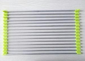 China Stainless Steel Plastic Draining Rack Folding Sink Shelf Dish Drip Custom Color on sale