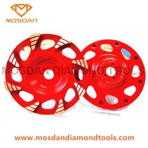 China 6'' Hilti Turbo Rain Seg Cup Grinding Cup Wheels on sale
