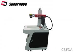 China 50w Fiber Laser Marking Machine For Cnc Animal Ear Tag , Fibre Laser Marking Machine on sale