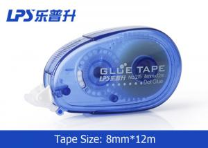 China Custom Printed Adhesive Glue Tape with Cushion Grip for Envelope School on sale