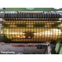 Metallic Gloss Stainless Steel Slit Coil , Corrosion Resistance Stainless Steel Coil Stock
