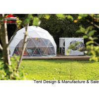 China Transparent Pvc Glamping Geodesic Dome House For Exhibition / Camping on sale