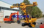 Water Well Drilling Rig Machine , Well Digging Equipment 400m Depth For Water Drilling