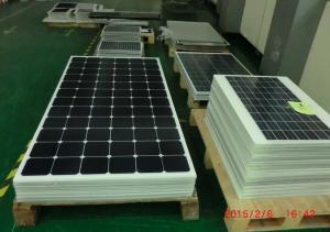 China Monocrystalline Solar Panel Alternative Energy , Industrial Solar Excellent Heat Dissipation on sale