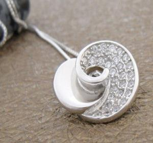 China Fashion Jewelry 925 Sterling Silver Gemstone Pendant with Zircon W-VB869 on sale