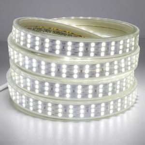 China SMD 2835 Led Flexible Strip Lights , AC220V Led Waterproof Strip Lights on sale