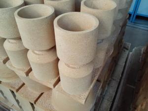 Quality Fireproof Runner Bricks , High Alumina Cast Steel Sleeve Brick for sale
