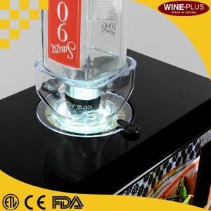 Quality Single Bottle 80W Chilled Shot Dispenser , Shot Chiller Machine CE Certification for sale