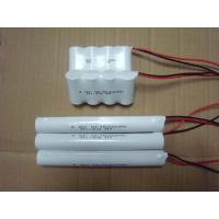 China Emergency Lighting Nicd Battery Packs SC 1500mAh 4.8V High Temperature on sale