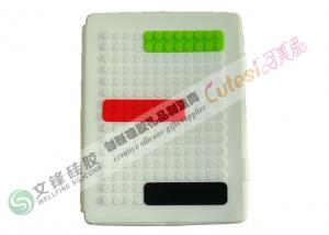 China Design with Round Three Slips iPad Silicone Cases for iPad 2 OEM and ODM on sale