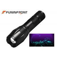 3W High Power Black Light LED Flashlight 395NM Wavelength Adjustable Focus Torch