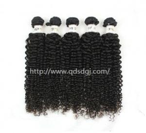 China Top Quality Afro Kinky Bulk Human Hair Curly Hair Extensions on sale