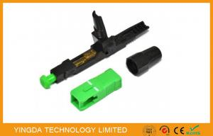 China Pre - embedded Fibre Optic Field Installable Termination Connector SC FC LC For Telecom on sale