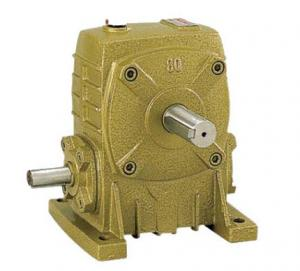China WP Worm Gear Gearbox WPS80 Solid Shaft Mounted Speed Reducers on sale