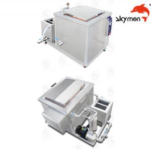 China Engine / Auto Parts Ultrasonic Cleaning Equipment 2400W 28/40KHz With Filter on sale