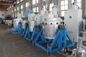 China Automatic Plastic Extrusion Machine , Plastic Pipe Production Line on sale