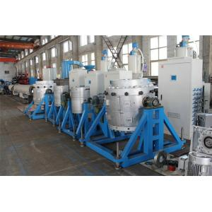 China Máquina plástica automática da extrusão, linha de produção plástica da tubulação on sale