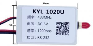China 200U Short Distance Transmitter / RF Transmitter And Receiver Kit 100mW on sale