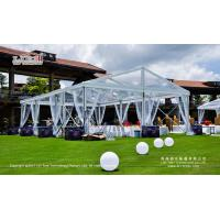 200-300 People Waterproof Clear Party Tent with Clear Top for Outdoor Parties and Events