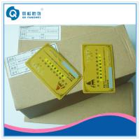 Gold Hot Stamping Plastic Card Printing , CR80 PVC Business Card With Serial Number