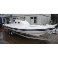 Long 9.6m Semi - Rigid Inflatable Yacht Tenders Motorized Inflatable Boats RIB960