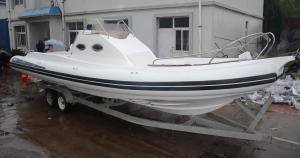 China Long 9.6m Semi - Rigid Inflatable Yacht Tenders Motorized Inflatable Boats RIB960 on sale