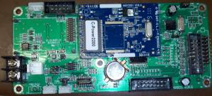 Quality La couleur simple et tri RVB électronique a mené la carte ordre pour mettre en rouleau le signe de LED for sale