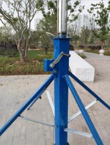 telescopic mast portable wifi tower crank up mast light pole