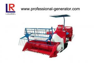 China Small Agriculture Harvester With 18KW Electric Starting Diesel Engine , 60HZ Small Rice Combine Harvesting Machine on sale