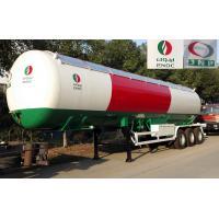 56000 Liters Transport LPG Gas Tanker Truck 25T Large Scale Crude Oil Tanker Truck