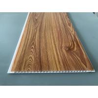 Wood Transfer Printing 250mm Decorative PVC Panels Waterproof Ceiling
