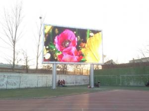 China RGB Outdoor LED Advertising Screens Energy Saving CE ROHS Certification on sale