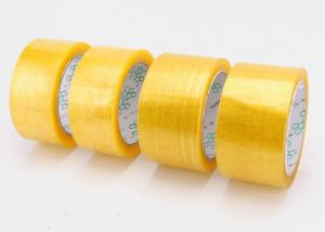 China Clear Self Adhesive Solvent Based Acrylic Booo Tape , Stoch Tape Long Term Adhesion on sale
