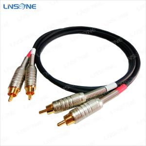 China Linsone 2 rca to 2 rca cable on sale