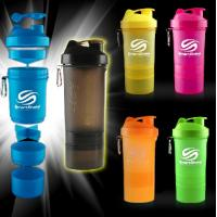 3-in-1 supplement protein shaker/shaker bottle with the pill container/smart shaker