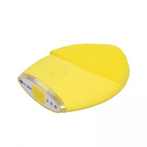 China Sonic Silicone Facial Cleansing Brush Electrical Exfoliator Waterproof Scrubber on sale