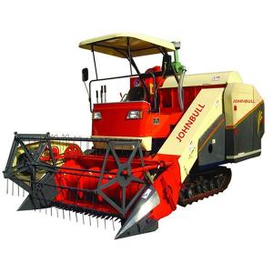 China Hotselling full-feeding RICE/grain wheat combine harvester 4LZ-2.0 harvesting machine on sale
