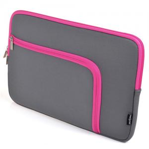 China 11 Inch Laptop Sleeve Neoprene / Tablet Sleeve Bag Eva Foam Padding Inside on sale