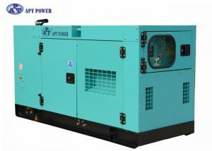 China Generadores diesel de poco ruido de 400V 25kVA Cummins con la batería sin necesidad de mantenimiento para el uso en el hogar, refrigerada por agua. on sale