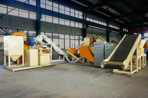 Large Scrap Copper Wire / Radiator Recycling Plant Copper