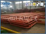 Energy Saving Steel Water Economizer Heat Exchanger Tubes Painted Surface Treatment
