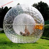 Large Clear Inflatable Zorb Ball Rental , Human Sized Hamster Ball