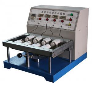 China Máquina de teste impermeável dinâmica Bally para testar índice penetrante da água do couro de sapata on sale