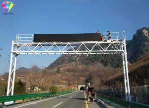China DIPLED Led Highway Signs P31.25mm Tri-Color / Full Color For Highway Messaging on sale