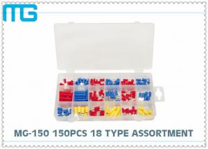 China MG - 150 Customized Wire Connector Kit 18 Types Terminals / Disconnects With PO Box on sale