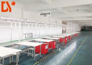 China Electric Power Automated Assembly Line , Flexible Production Line For Workshop on sale