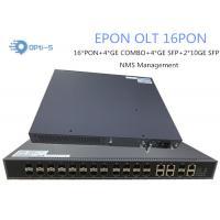 NMS Management OLT Optical Line Terminal 2 Uplink 10GE Ports 16 PON Ports